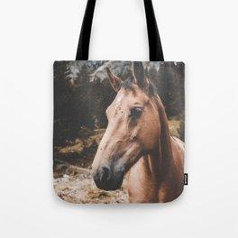 Rustic Horse Tote Bag