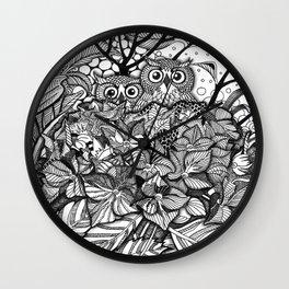 HORTENSIA WILDERNESS Wall Clock