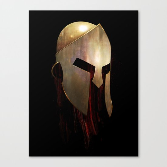 The Last Spartan Canvas Print