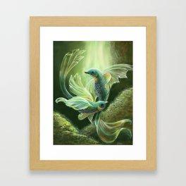 Underwater Birds Framed Art Print