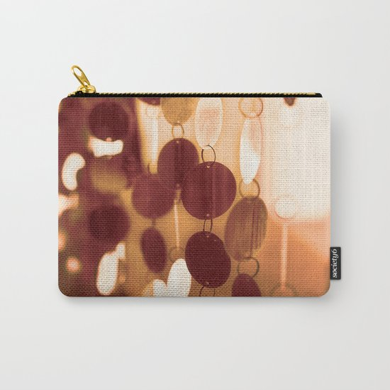 GLAM CIRCLES #Orange #1 Carry-All Pouch