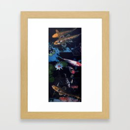 Hawaiian Koi Pond II Framed Art Print