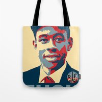tyler the creator Tote Bags featuring Tyler The Creator Hope Poster by Misadventures