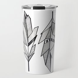 Sacred Feathers Travel Mug