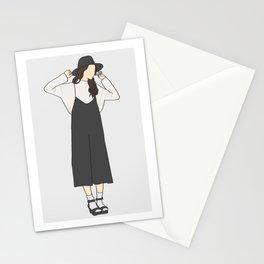 Black OOTD Stationery Cards