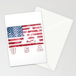 Team USA Water Polo on Olympic Games Stationery Cards