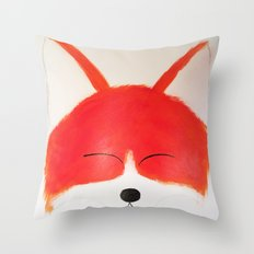 Foxy Roxy Throw Pillow