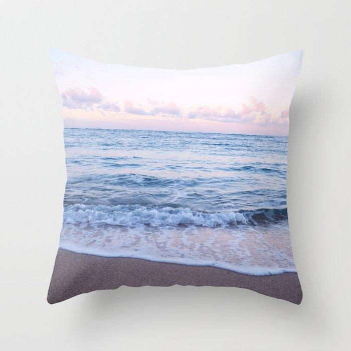 Ocean Morning Throw Pillow