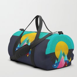 047 Owly travelling through vast cosmic sea Duffle Bag