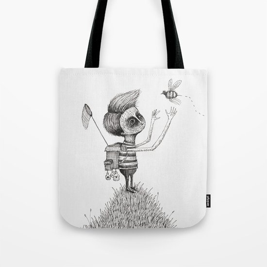 'The Bug Collector' (Colour Option) Tote Bag