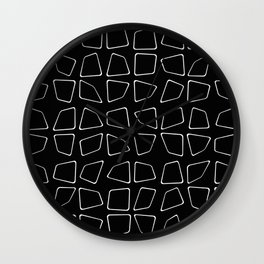 Changing Perspective - Simplistic Black and white Wall Clock