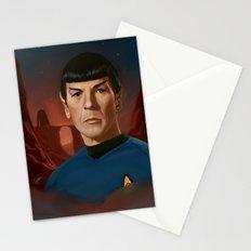 Mr. Spock Stationery Cards