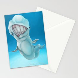 Deep Beluga Sea Stationery Cards