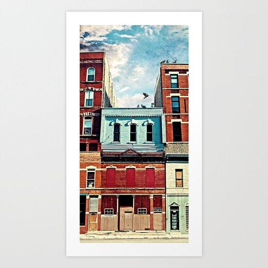 19th Street Art Print