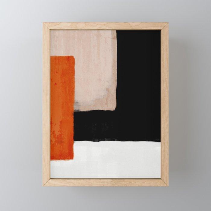 abstract minimal 14 Framed Mini Art Print