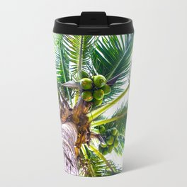 How About Those Coconuts Travel Mug