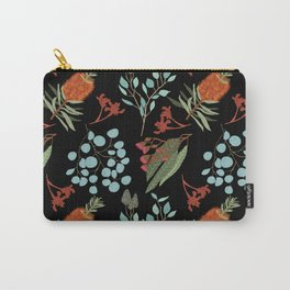 Australian Botanicals - Black Carry-All Pouch