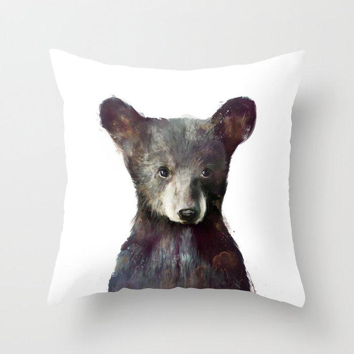 Little Bear Throw Pillow