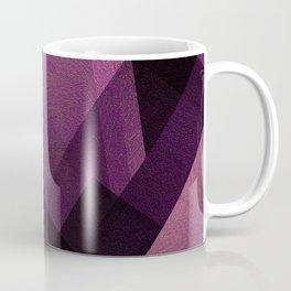 Modular Magenta - Digital Geometric Texture Coffee Mug