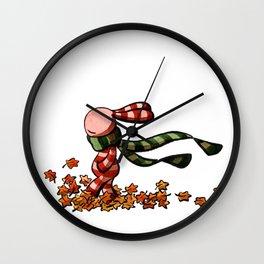 Rascheln Wall Clock