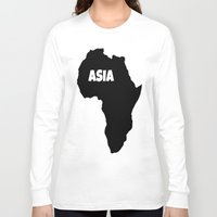 asia Long Sleeve T-shirts featuring ASIA by AnacondaOnline.eu