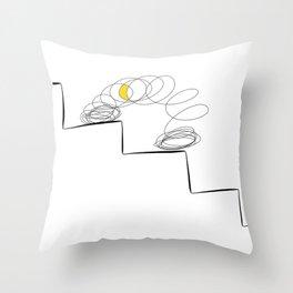 slinky Throw Pillow