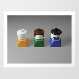 Duplo Family Art Print