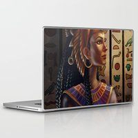 egyptian Laptop & iPad Skins featuring Egyptian by Ayu Marques