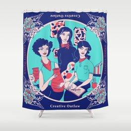 Women Artists (Creative Outlaws) Shower Curtain