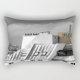 Rooftops of Paris Rectangular Pillow