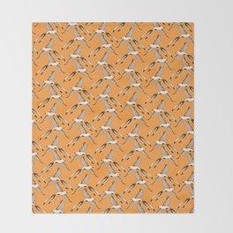 Scissor-tailed Flycatcher Throw Blanket