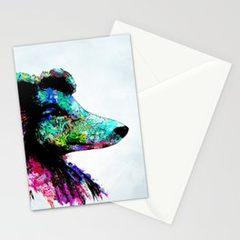 Dog 136 Collie Stationery Cards