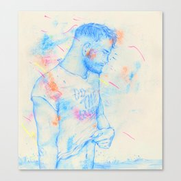 Boy: Do the Earth Canvas Print