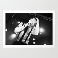 panic at the disco Art Prints featuring Panic At The Disco - Brendon Urie by Lights & Sounds Photography