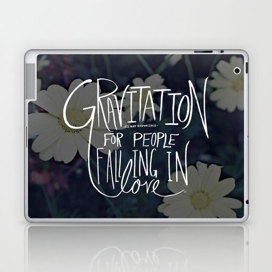 Einstein: Gravitation Laptop & iPad Skin