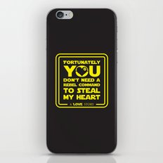 You dont need a rebel command iPhone & iPod Skin