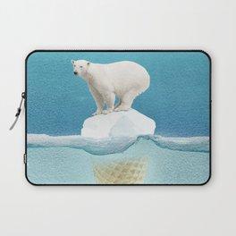 Polar ice cream cap Laptop Sleeve