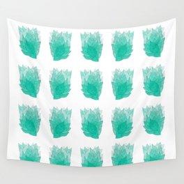 """KEEP GROWING!"" -RAPID GROWTH LEAVES Wall Tapestry"