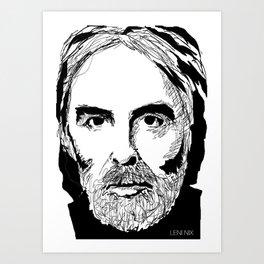 Michael Haneke Art Print