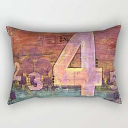 Journey by Number: 4 Rectangular Pillow