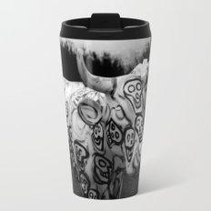 Skull Cow Travel Mug