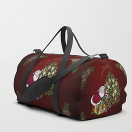 Christmas, Santa Claus Duffle Bag