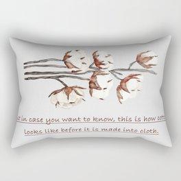 cotton Rectangular Pillow