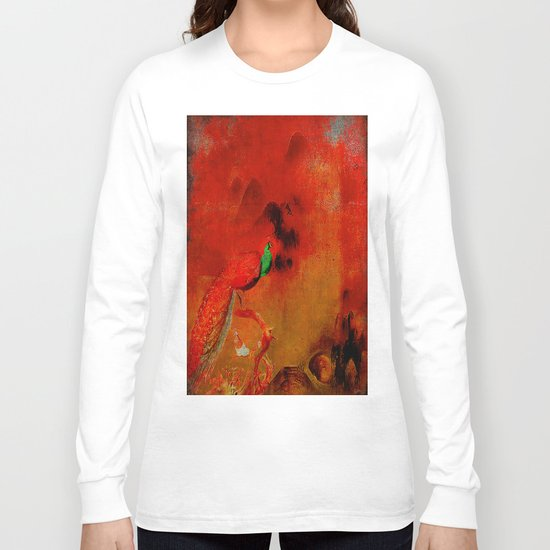 Peacock in the purgatory Long Sleeve T-shirt