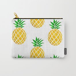 Beautiful Pineapple Pattern Carry-All Pouch