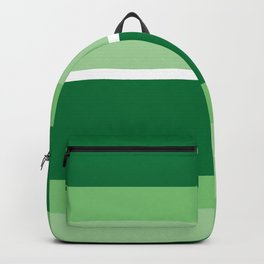Strips - green. Backpack
