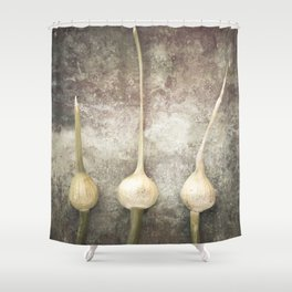 Allium Shower Curtain