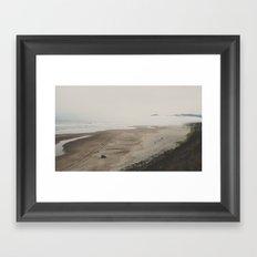 Hiding Cape Lookout Framed Art Print