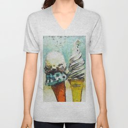 Ice Creams Unisex V-Neck