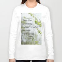 les miserables Long Sleeve T-shirts featuring Les Miserables Love by KimberosePhotography
